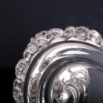 Edwardian silver muffin dish