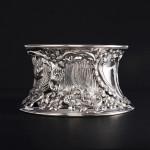 Antique Irish style silver dish ring