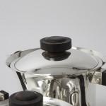 4-piece Art Deco silver-plated tea & coffee service