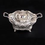 Edwardian silver basket