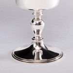 Charles I style silver wine goblet