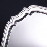 """10½"""" George II style silver salver"""