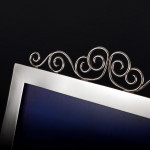 Victorian silver photo frame