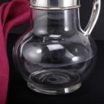 Victorian claret wine jug