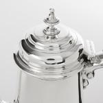 William IV silver coffee pot