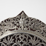 Victorian silver photograph frame