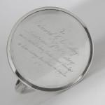Victorian silver pint mug