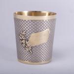 1st standard French silver gilt beaker