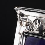 Art Nouveau silver photograph frame