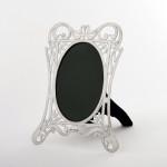 Edwardian silver photograph frame