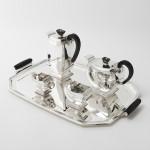 Art Deco silver tray