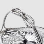 Antique pierced silver basket