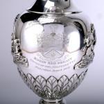 Military presentation silver wine ewer