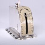 Silver postal scales