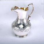 4-piece silver-plated tea & coffee set