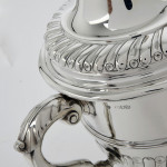 Antique silver trophy cup & cover