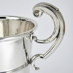 Large two-handled silver trophy cup