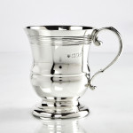 Antique silver child's cup