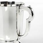 Silver half-pint mug