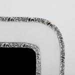 Edwardian silver photo frame