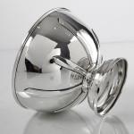Edwardian silver bowl
