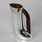 H2O silver water jug