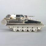 Silver salamander tank for 2RTR