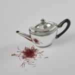 Dutch silver saffron teapot