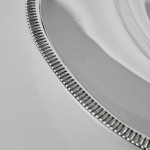 Mid-century silver oblong platter