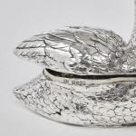 Silver swan box