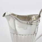 Britannia silver sugar bowl & cream jug
