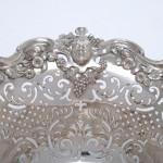 Fine George II silver basket