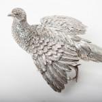 Pair of silver pheasants