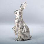 Silver model hare