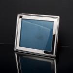 Portrait & landscape silver photo frame