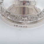 Scottish silver wine cooler