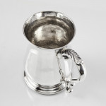 George III silver child's mug