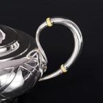 Antique Russian silver teapot
