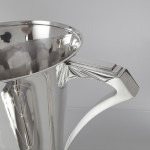 Art Deco silver trophy cup & cover