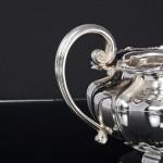 George IV 3-piece silver tea set