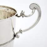 Two-handled silver trophy cup