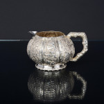 Antique Chinese silver tea set