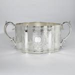 Antique silver-plated tea set
