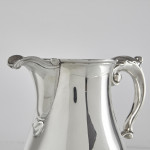 George III silver beer or water jug