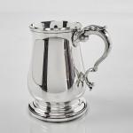 George III style silver child's mug