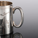 Silver child's cup