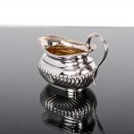 George III style silver cream jug