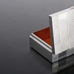 Art Deco silver cigarette box