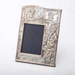 Romeo & Juliet silver photo frame