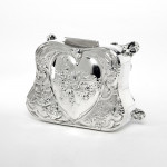 Art Nouveau silver jewel box